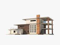 free residence house 3d model