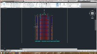 Autocad project building 3