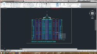 Autocad project building 4
