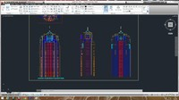 Autocad project building 2