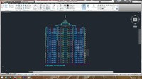 Autocad project building 5