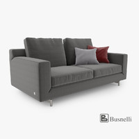 3d model busnelli taylor sofa 2