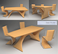 Form Follows Function Table by Daan Mulder
