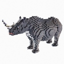 cartoon rhinoceros 3D models