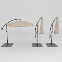 patio umbrella 3d model