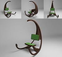 3ds max swing chair
