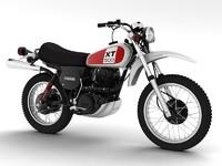 3ds max yamaha xt500 1975