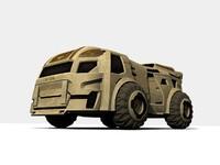 maya transport sci-fi