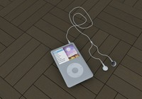 3d model music apple