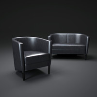 rich-armchair 3d model
