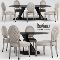chair table rea 3d max
