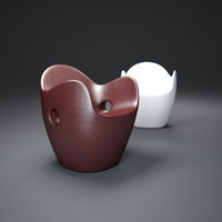 nest-chair 3d model