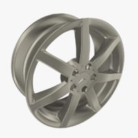 3d mercedes-benz rim spoke