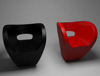 little albert chair 3d max