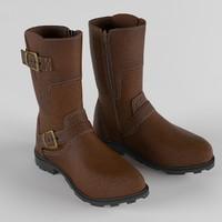 3d mens boots