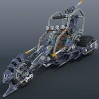 3ds max concept bike