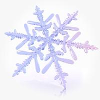 Snow flake model A
