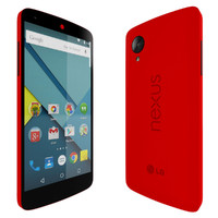 lg nexus 5 red 3d max