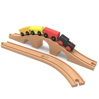 railroad toy cars 3d max