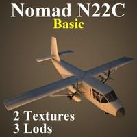 gaf n22c basic 3d model