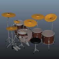 3d drums rig