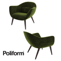 3ds poliform mad chair