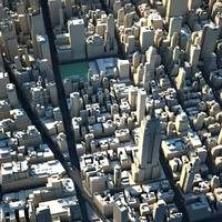 3d model of new york