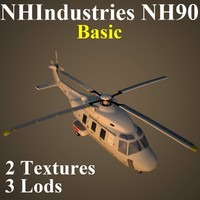 max nhindustries nh90 basic helicopter