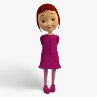 max cartoon character girl