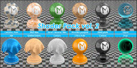 Shader Pack vol 2 for blender cycles