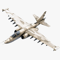Su-25 Frogfoot Military Jet