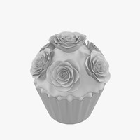 3d model cupcake v3
