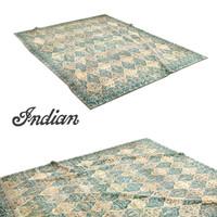 north indian carpet 3d max
