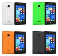 3d model microsoft lumia 435 dual