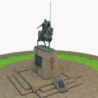 alexander nevsky 3d model