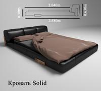 maya bed solid