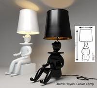 table lamp clown 3d model