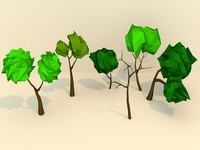 3d 3ds art trees
