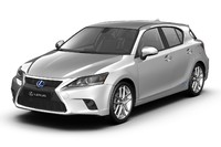 3d lexus ct200h model