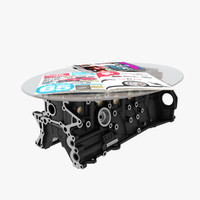 3d table engine block 2jz