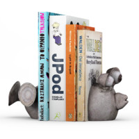 balloon fish bookends 3d max
