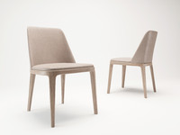 corona poliform chairs grace 3d model
