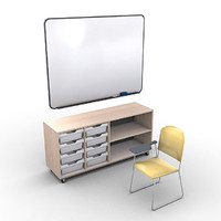 School Furniture Pack 1