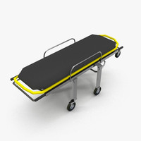 Stretcher Low Poly