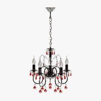 mw-light chandelier 3d model