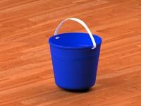 3d model bucket