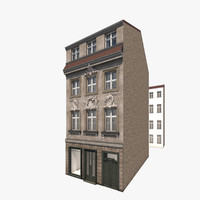 residential house berlin building 3d model