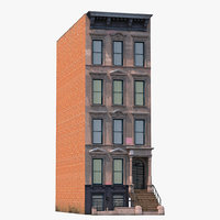 house brownstone 3ds