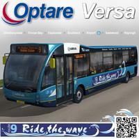 optare versa bus 3d model