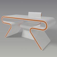 table omega 3d model